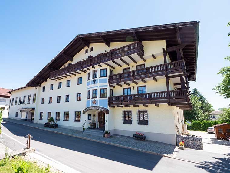 Außenaufnahme Gasthof zur alten Post