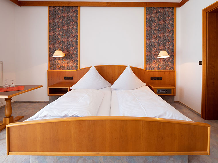 Hotelzimmer im Bayerischen Wald